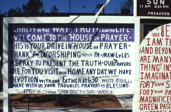 Drive In House of Prayer